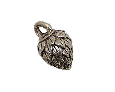 Green Girl Pewter Mystery Nut 15x23mm