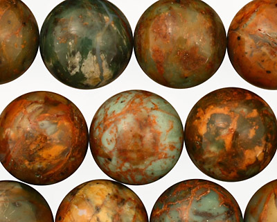 African Green Opal Round 16mm