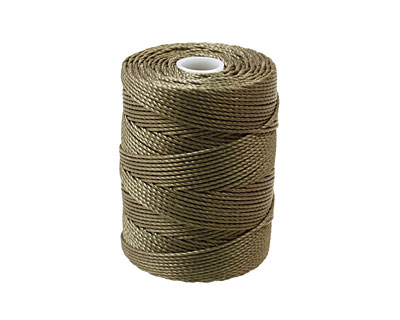 C-Lon Olive (.5mm) Bead Cord