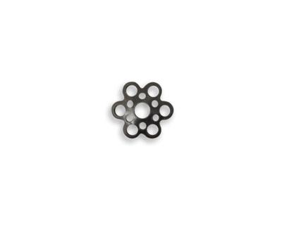 Vintaj Arte Metal 6 Petal Pierced Bead Cap 2x10mm
