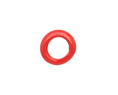 Trinket Foundry Opaque Cherry Mini Glass Bottle Ring 9-13mm