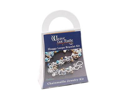 Weave Got Maille Sedona Shaggy Loops Bracelet Kit
