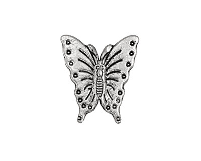 Pewter Butterfly 20x18mm