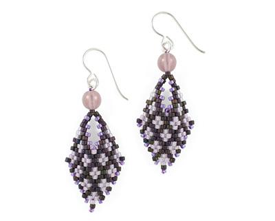 Lady Slipper Earrings Pattern