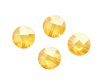 Sunshine Faceted Coin 10mm