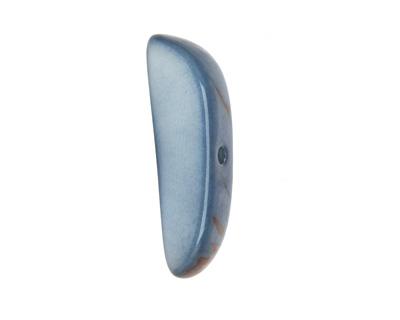 Tagua Nut Stonewashed Splinter (center-drilled) 7-8x28-35mm