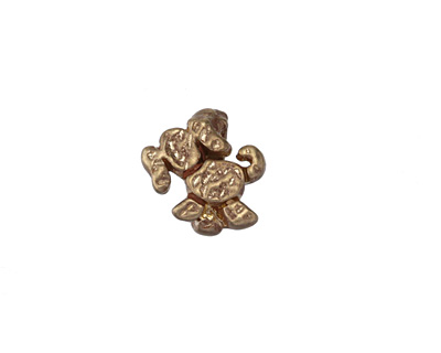 Patricia Healey Bronze Small Puppy 10mm Flat Slide 13mm