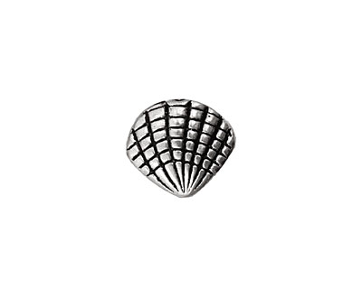 Pewter Clamshell 12x14mm