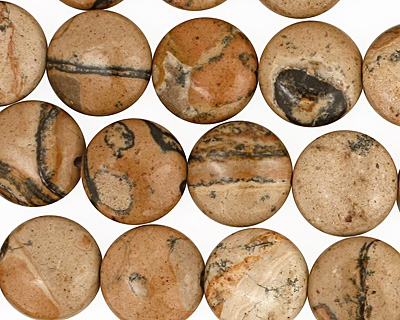 Madagascar Leopardskin Puff Coin 12mm