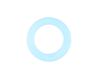 Turquoise Bay Recycled Glass Ring 23mm