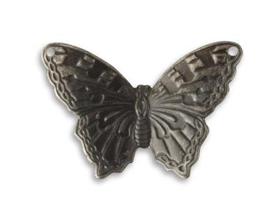 Vintaj Arte Metal Summer Azure Butterfly Link 34x23mm