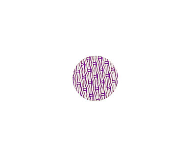 Lillypilly Purple Reeds Anodized Aluminum Disc 11mm, 24 gauge