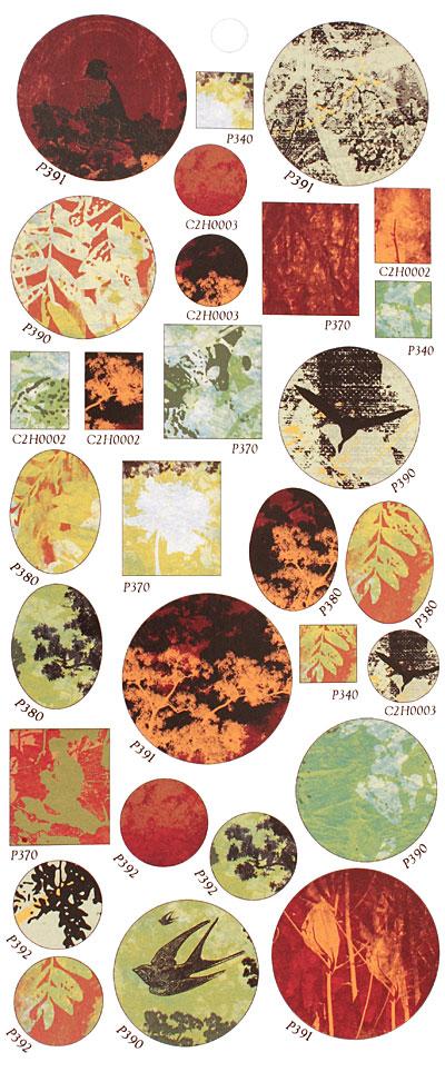 Vintaj Perennial Forest Bezel Sheet