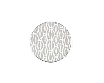 Lillypilly Silver Reeds Anodized Aluminum Disc 19mm, 22 gauge