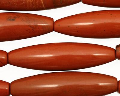 Red Jasper Rice 41x11mm