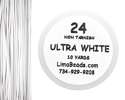 Parawire White 24 Gauge, 10 Yards