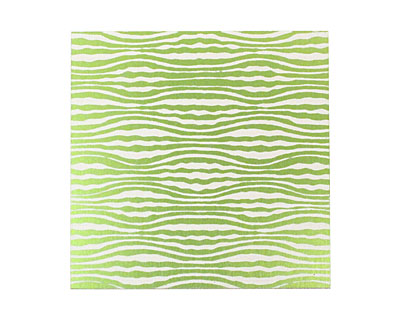 Lillypilly Lime Green Zebra Anodized Aluminum Sheet 3