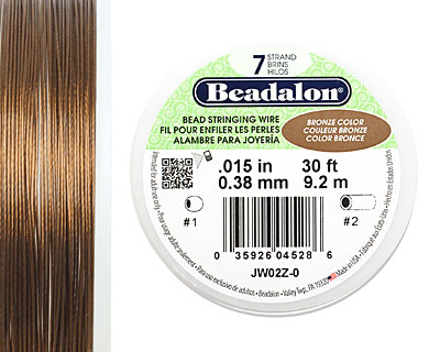 Beadalon Bronze .015