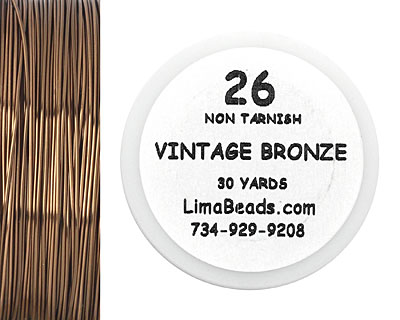 Parawire Vintage Bronze 26 Gauge, 30 Yards