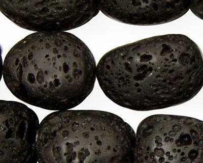 Lava Rock Nuggets 18-25x15-18mm