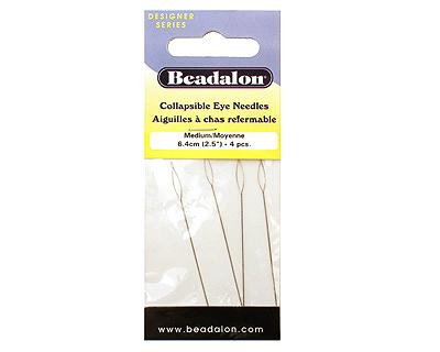 Beadalon Collapsible Medium Beading Needles