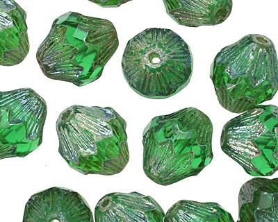 Czech Glass Oz Baroque Bicone 13x11mm