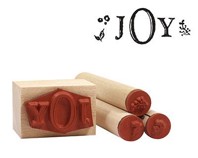 Holiday Joy Rubber Stamp Set