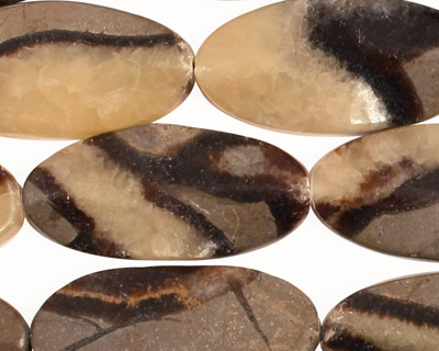 Septaria Wavy Oval 30x15mm