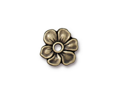 TierraCast Antique Brass (plated) Apple Blossom Rivetable 20mm