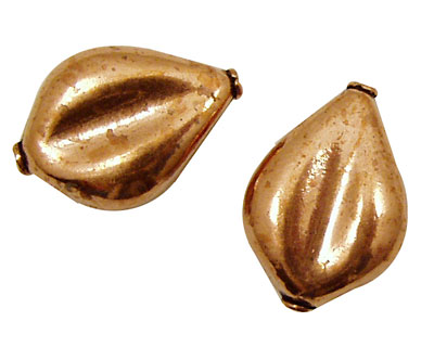 Copper Pear 25x17mm