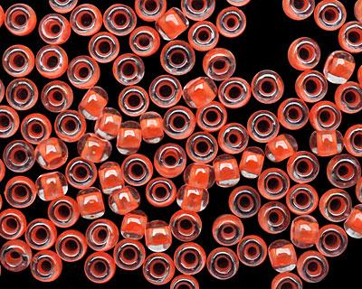 TOHO Luminous Neon Salmon Round 11/0 Seed Bead