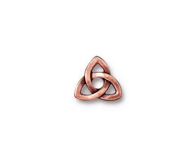 TierraCast Antique Copper (plated) Celtic Rivetable 11mm