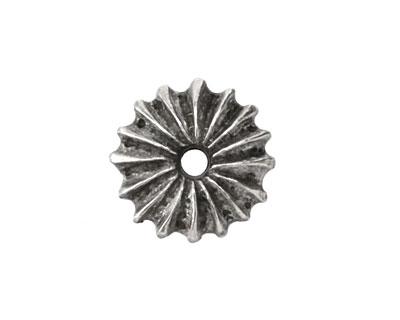Greek Pewter Sea Urchin Spacer 6x20mm
