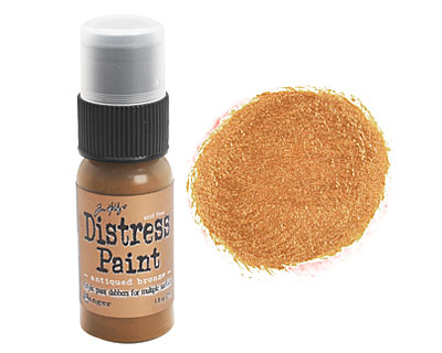 Tim Holtz Antiqued Bronze Distress Paint Dabber 29ml