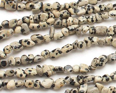 Dalmatian Jasper Mini Tumbled Nugget 4-6mm