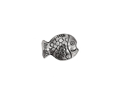 Pewter Fish 14x10mm