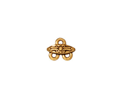 TierraCast Antique Gold (plated) Tudor 2-1 Link 10x8mm