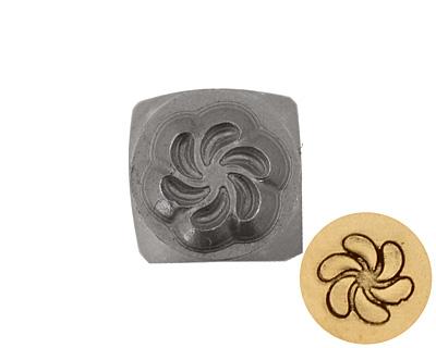 Pinwheel Metal Stamp 5mm