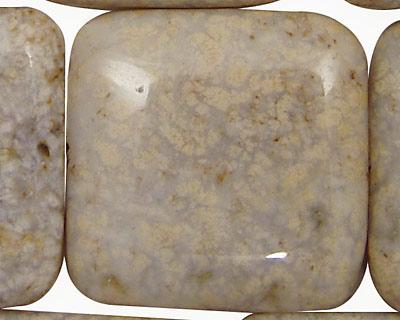 Oregon Snakeskin Agate Puff Square 35mm