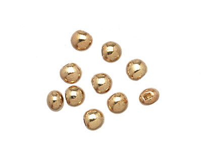 Beadalon Gold (plated) Flat Memory Wire End Cap 5x4mm