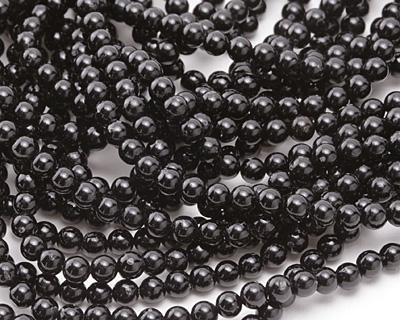 Black Tourmaline Round 4mm