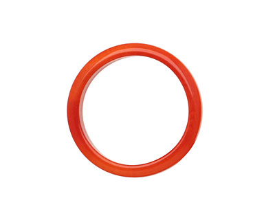 Tagua Nut Orange Ring 22mm
