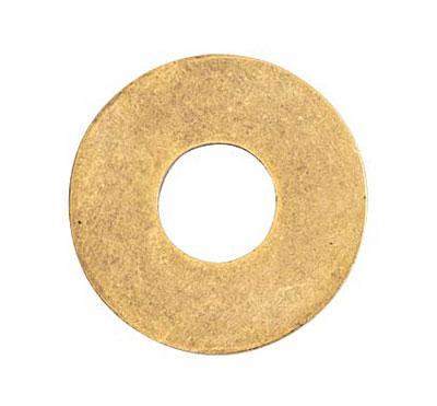 Nunn Design Antique Gold (plated) Grande Circle Flat Tag Washer 31mm