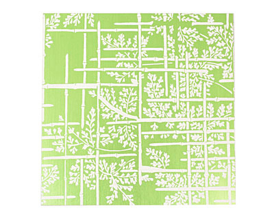 Lillypilly Lime Green Bamboo Anodized Aluminum Sheet 3