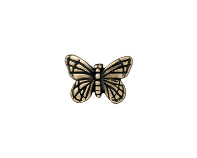TierraCast Antique Brass (plated) Monarch Bead 11x15mm