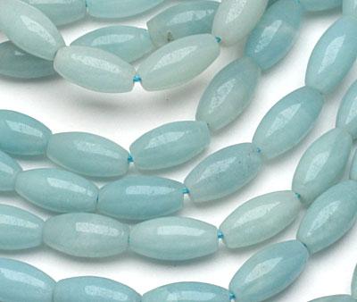 Amazonite Rice 12x6mm