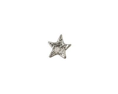 Green Girl Pewter Small Star Button 10mm