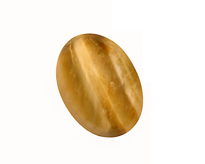 Honey Tiger Eye Oval Cabochon 18x25mm