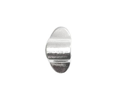 Nunn Design Sterling Silver (plated) Ponytail Holder 10x19mm