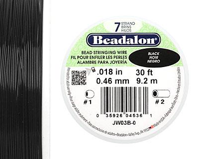 Beadalon Black .018